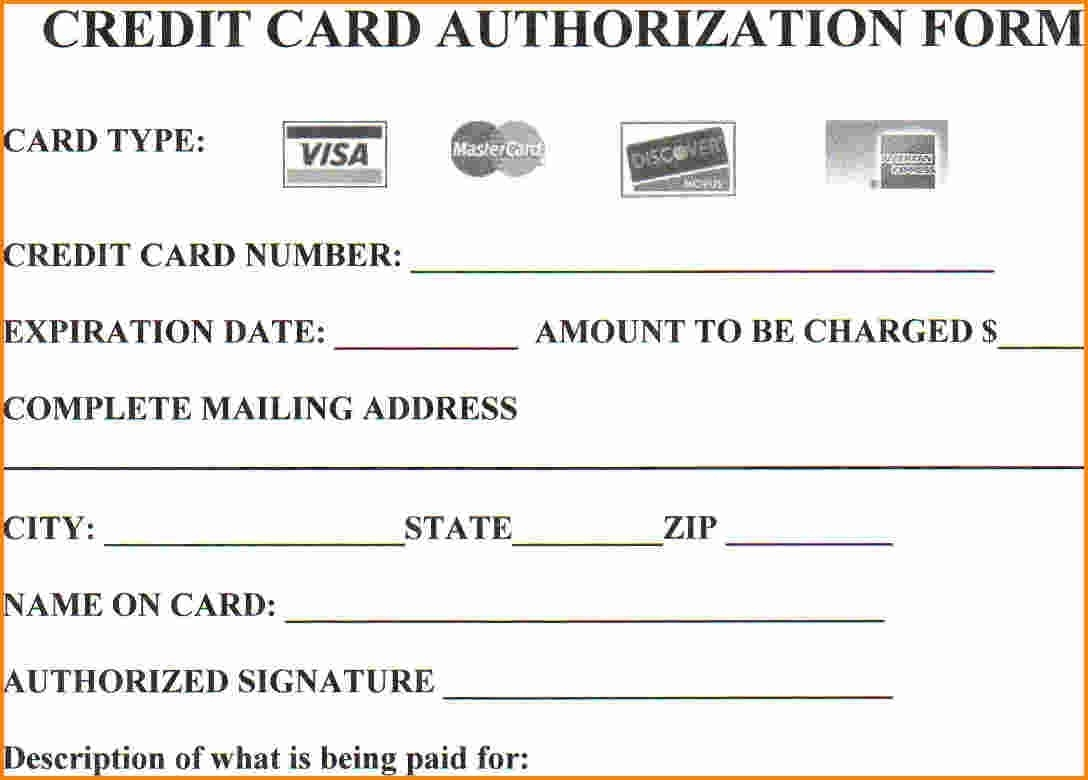 Credit Card Auth Pertaminico - Card template free: invoice template with credit card payment option