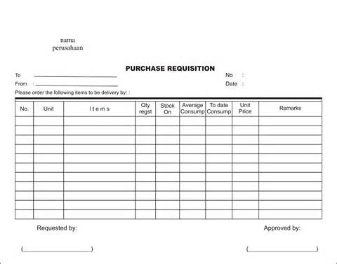 Purchase Requisition Form Download For Free - Aashe
